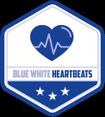 BlueWhite Heartbeats